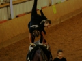 Akrobatik auf dem Pferd